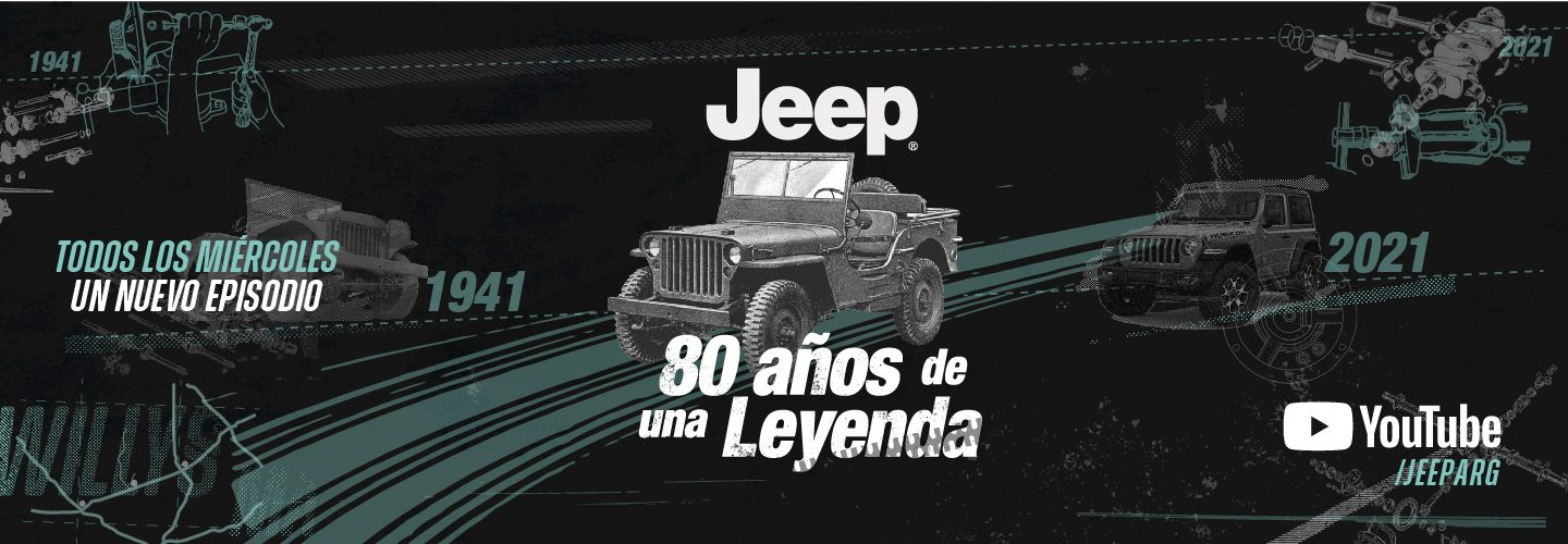 Jeep Willy 80 años